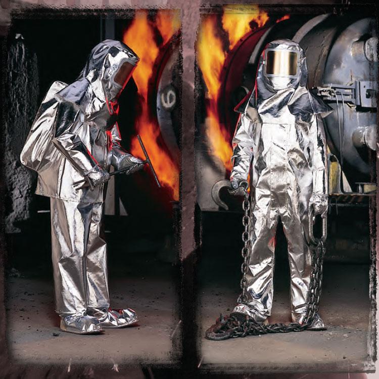 400系列Kevlar镀铝隔热服