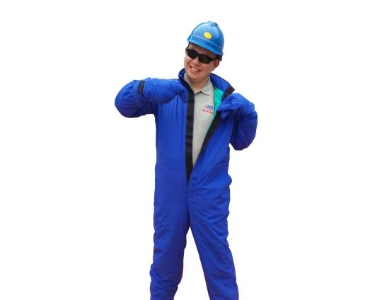 液氮防护服(不带背囊)